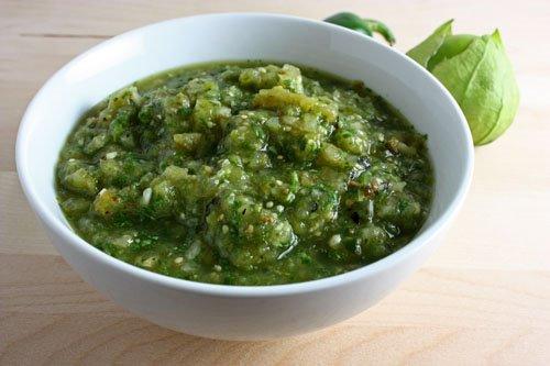 salsas verdes