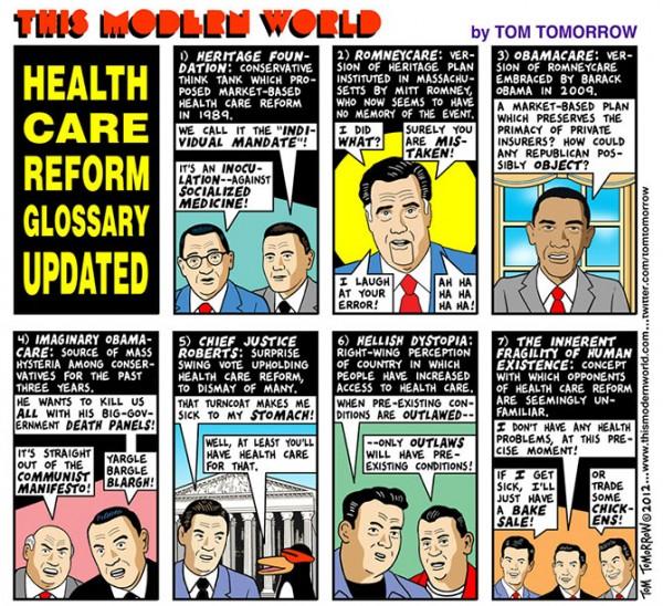 Obamacare Tom Tomorrow
