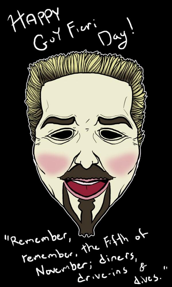 Guy Fieri Fawkes