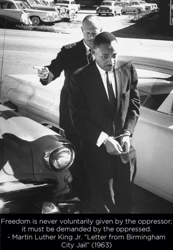 MLK Handcuffs