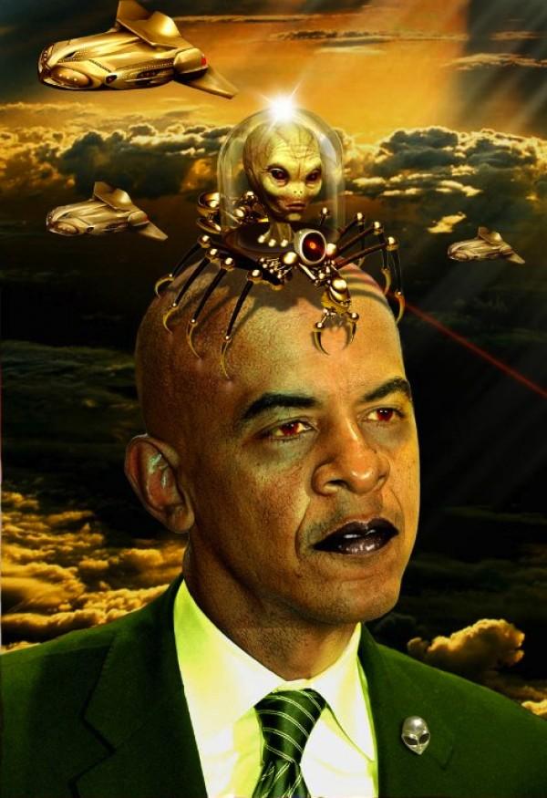 obama on aliens