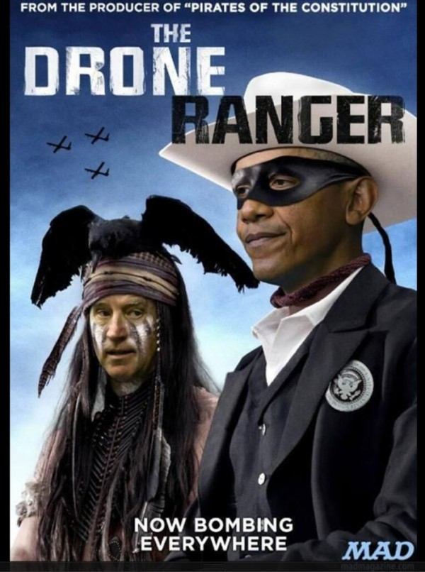Drone Ranger Obama