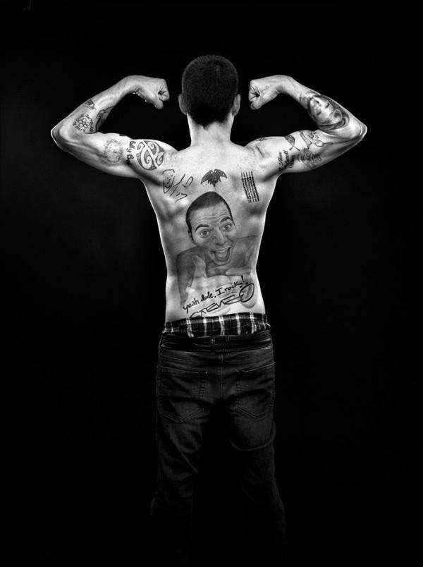 Steve-O Back
