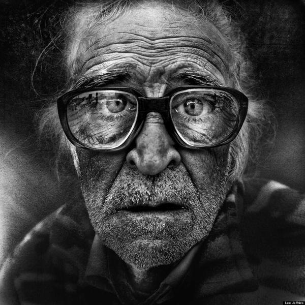 Street Face by Lee Jeffries