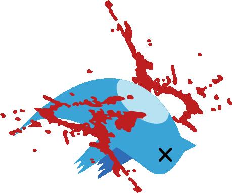 dead birdTwitter