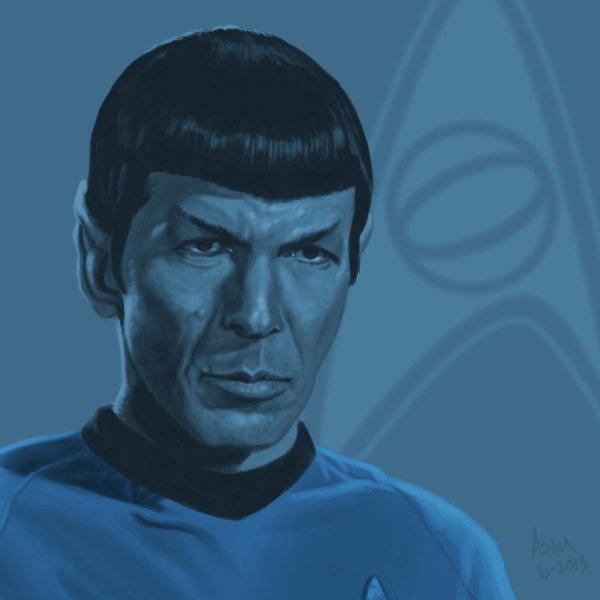 star_trek_tos_portrait_series_02a___spock___nimoy_by_jadamfox-d697qe1