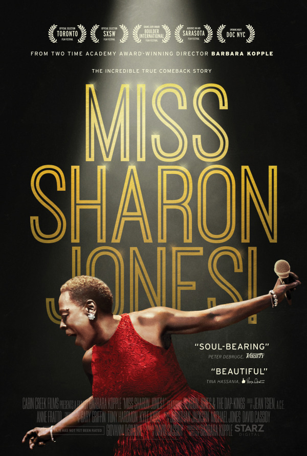 Miss Sharon Jones Movie Poster