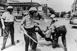 Baltimore Arrest During Riot