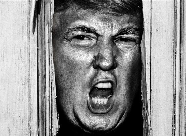 Donald Trump Shining