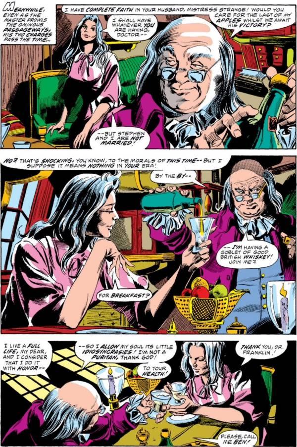 Ben Franklin Dr. Strange