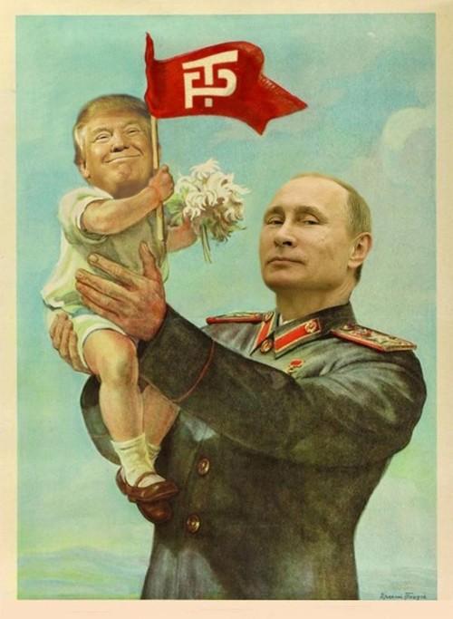 Trump Baby-putin-image